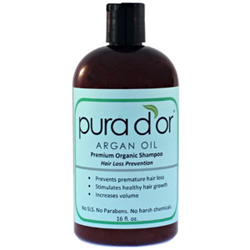 Pura dor Hair Loss Prevention Shampoo Review - Is this the Best Organic Shampoo?