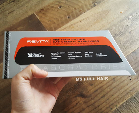 Revita hair loss shampoo