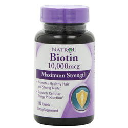 Natrol Biotin Reviews - Some Reporting New Hair Growth!