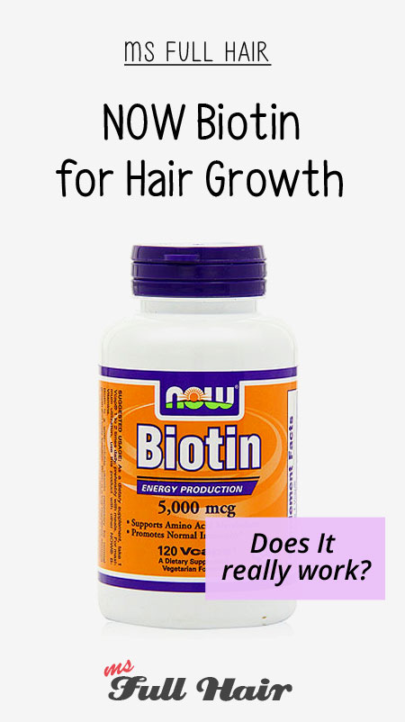 Now biotin for hair growth review