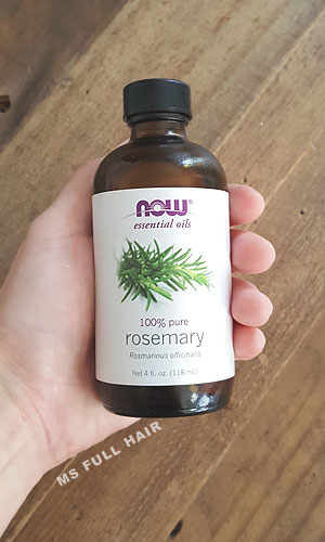 now rosemary oil for hair loss