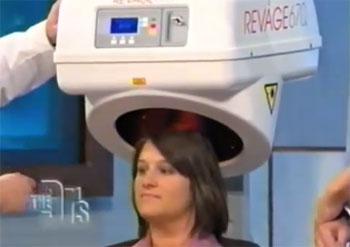 doctors show - laser treatment therapy for women hair loss
