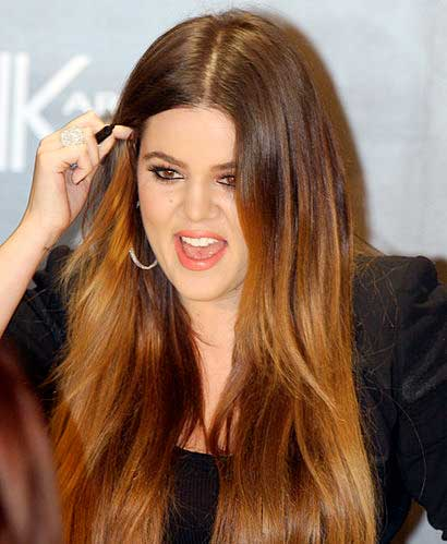 khloe kardashian hair loss extensions