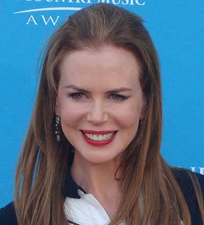 Another actress with thinning hair: Nicole Kidman