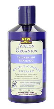 avalon organics shampoo for thinning hair