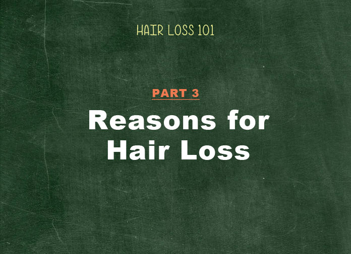 female hair loss causes and reasons