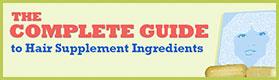 ingredients hair vitamins and supplements