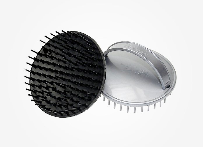 how to use scalp brush