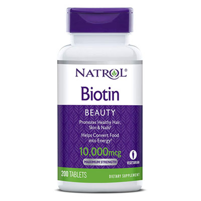 best hair growth supplement natrol biotin