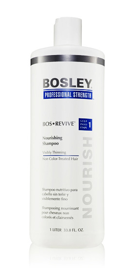 bosley bos revive shampoo for non color treated hair