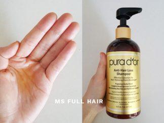 Pura Dor Hair Loss Prevention Shampoo Review