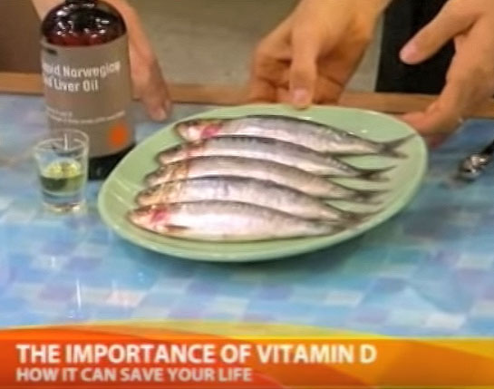 Dr oz reveals the best ways to get more vitamin d for Vitamin d fish