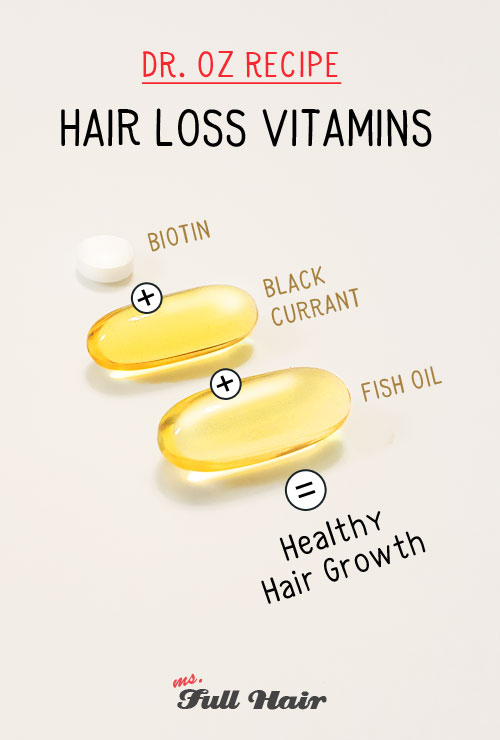 dr oz hair loss vitamins