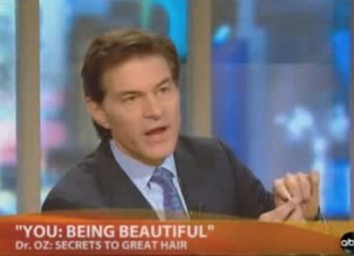 Dr Oz secrets to healthy hair growth biotin and more