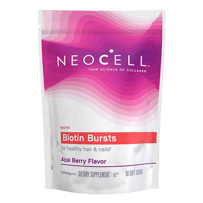 neocell biotin bursts for hair growth review
