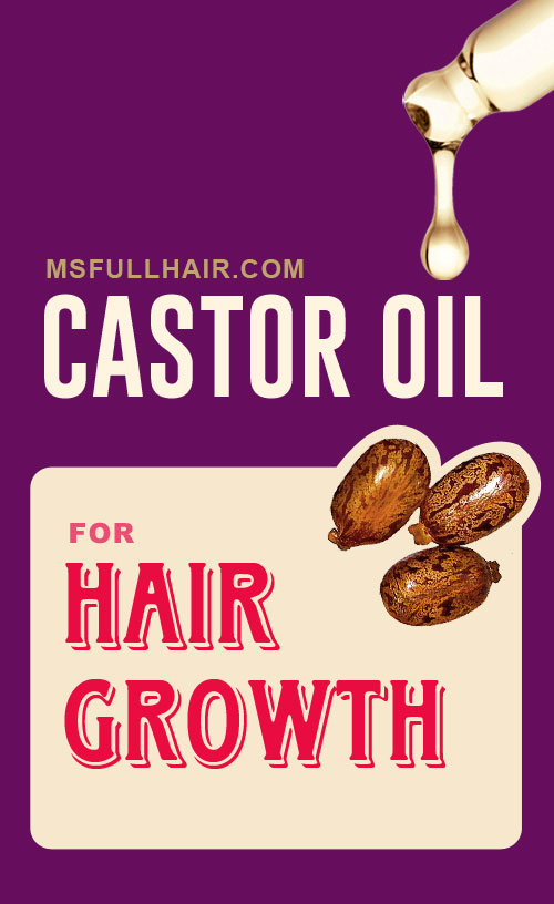 castor oil for hair growth recipes