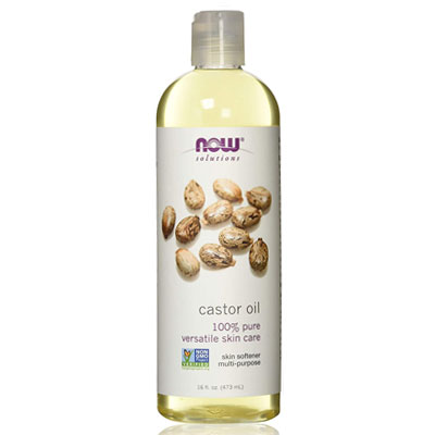 now foods pure castor oil for hair loss review
