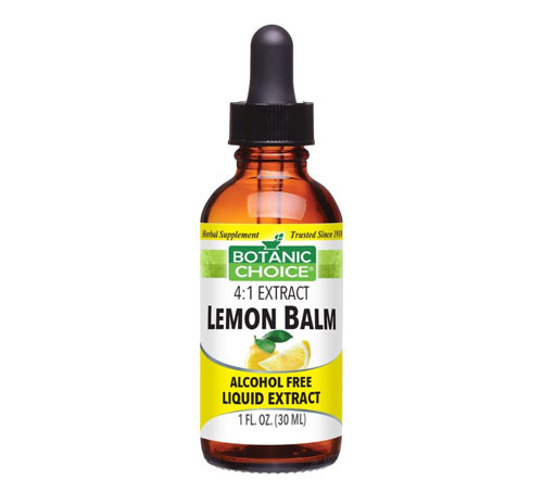 best lemon balm tincture for hair loss alcohol free liquid extract