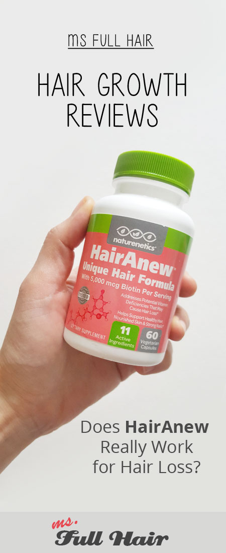 the amazon best seller hair loss supplement hairanew reviews for hair growth