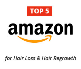 TOP 5 amazon best sellers for hair loss hair regrowth products and treatments