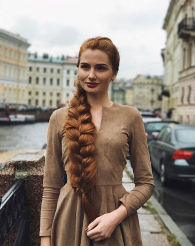 Anastasia Sidorova hair care tips