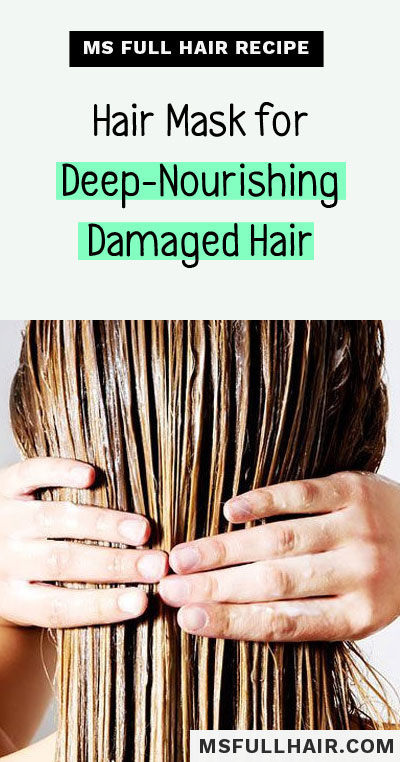 best diy hair mask for damaged hair