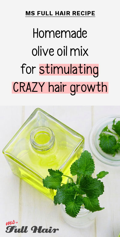 olive oil hair mask for stopping hair loss and stimulating hair growth