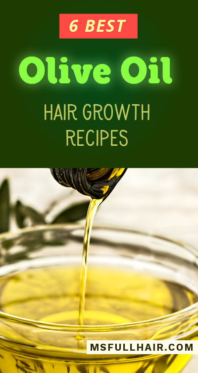 olive oil hair mask treatment for hair growth