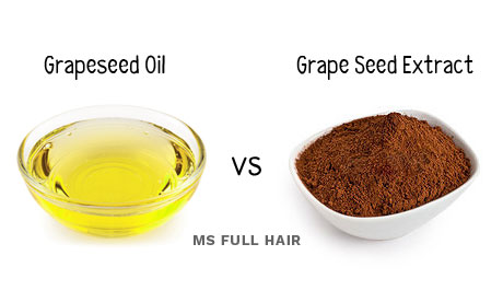 grapeseed oil vs grape seed extract whats the difference