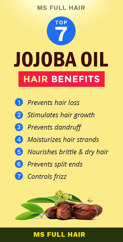 jojoba oil benefits for hair growth