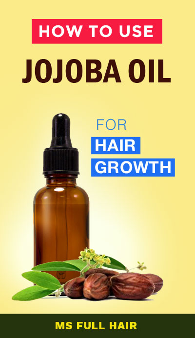 jojoba oil for hair growth and hair loss