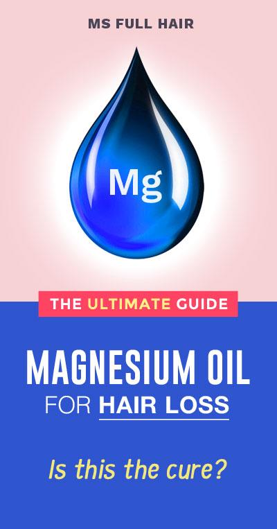magnesium oil for hair loss hair growth