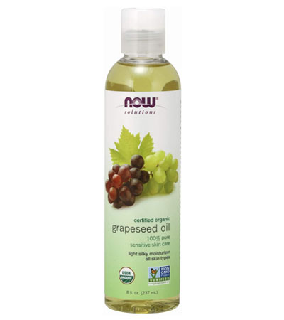 now grapeseed oil for hair loss