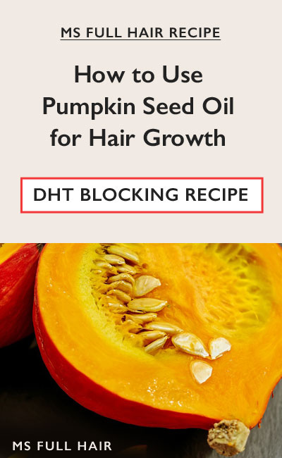 how to use pumpkin seed oil and peppermint oil for hair growth
