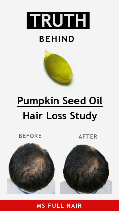 pumpkin seed oil for hair loss