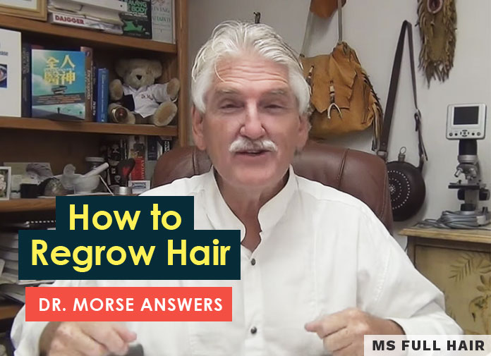 dr morse hair loss hair regrowth