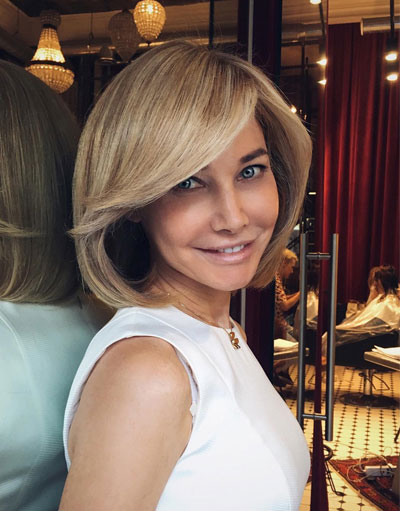 Bob hairstyles for fine hair over 50 | Ms Full Hair
