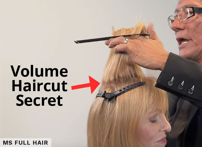 haircuts for volume in crown