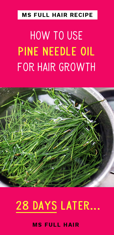 how to use red pine oil for stimulating hair growth and stopping hair loss