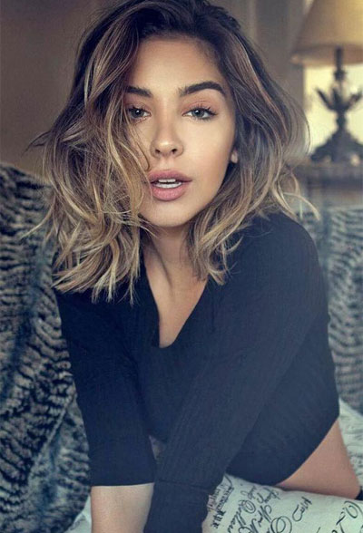 50 Best Medium Length Hairstyles for Thin & Extremely ...