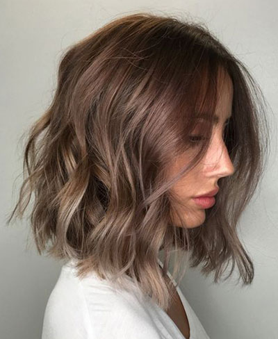 50 best medium length hairstyles for thin  extremely